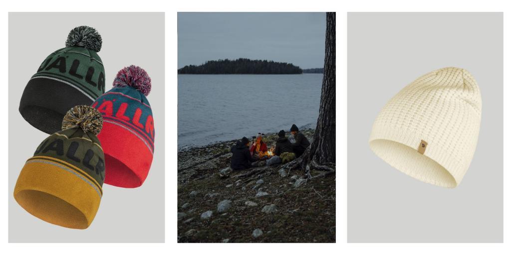 Produktbilder av luer fra Fjällräven
